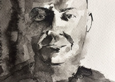 DUANE, India ink on paper
