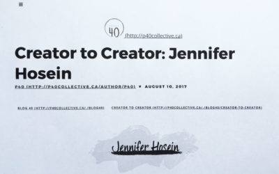 Project 40 Collective: Creator to Creator interview