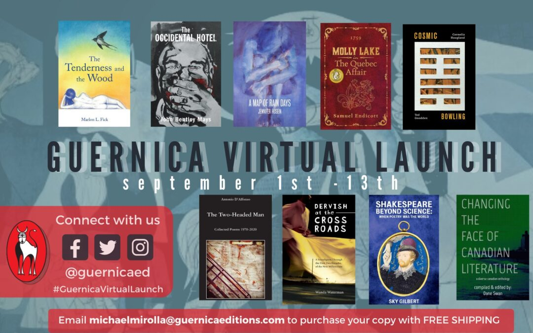 Guernica Editions' virtual fall launch